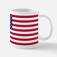 US - 50 Stars Flag Mug
