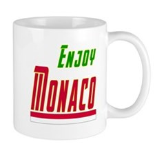 Enjoy Monaco Flag Designs Mug