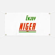 Enjoy Niger Flag Designs Banner