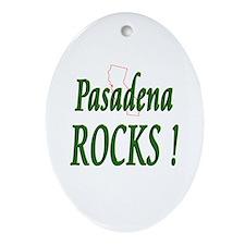 Pasadena Rocks ! Oval Ornament