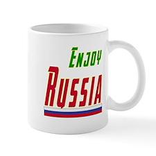 Enjoy Russia Flag Designs Mug