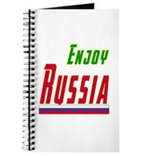 Enjoy Russia Flag Designs Journal