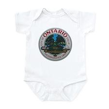 Cute California seal Infant Bodysuit