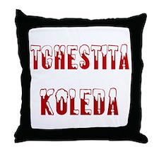 Tchestita Koleda Throw Pillow