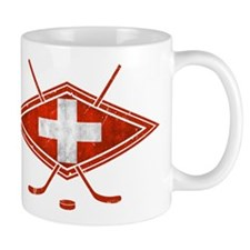Schweiz Eishockey Logo Mug