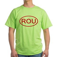 Uruguay - ROU Oval T-Shirt