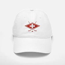 Schweiz Eishockey Logo Baseball Baseball Baseball Cap