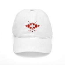 Schweiz Eishockey Logo Baseball Baseball Cap