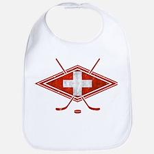 Schweiz Eishockey Logo Bib