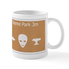 Theme Park Small Mug