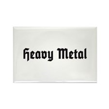 Heavy Metal Rectangle Magnet