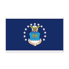 USAF Flag Rectangle Car Magnet