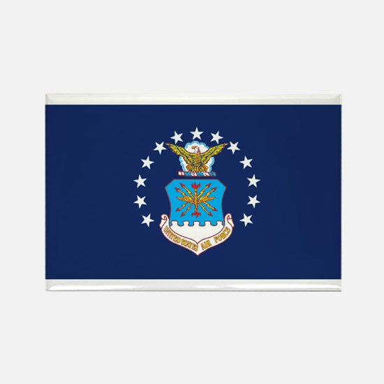 USAF Flag Rectangle Magnet (10 pack)