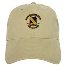 Army - Company D, 51st Infantry w SVC Ribbons Baseball Cap