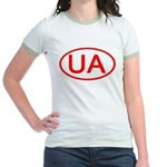 Ukraine - UA Oval Jr. Ringer T-Shirt