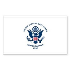 USCG Flag Decal