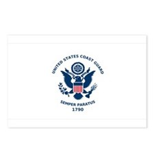 USCG Flag Postcards (Package of 8)