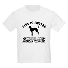 American Foxhound vector designs T-Shirt