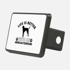 American Foxhound vector designs Hitch Cover
