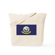 USN Flag Tote Bag