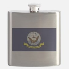 USN Flag Flask