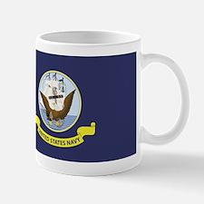 USN Flag Mug
