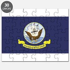 USN Flag Puzzle