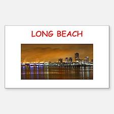 long beach Decal
