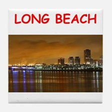 long beach Tile Coaster