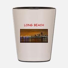 long beach Shot Glass