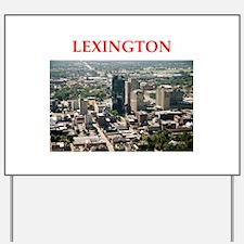 lexington Yard Sign