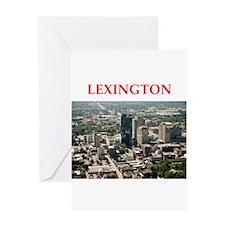 lexington Greeting Card
