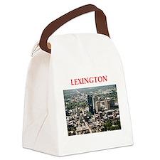 lexington Canvas Lunch Bag