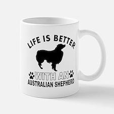 Australian Shepherd vector designs Mug