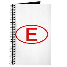 Spain - E Oval Journal