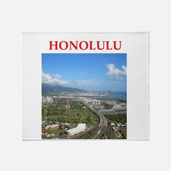 honolulu Throw Blanket