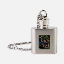 Busy Mom Mother's Day Flask Necklace