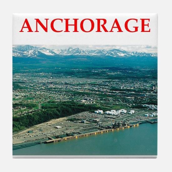 anchorage Tile Coaster