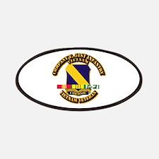 Army - Company E, 51st Infantry w SVC Ribbons Patc