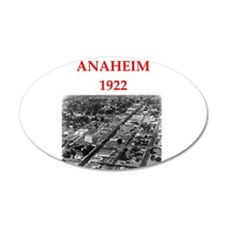 anaheim Wall Decal