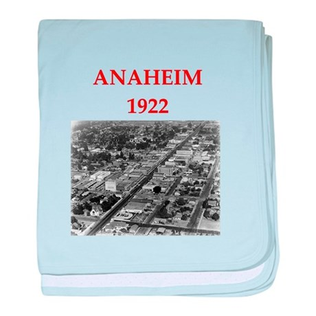 anaheim baby blanket