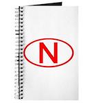 Norway - N Oval Journal