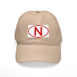 Norway - N Oval Cap