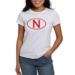 Norway - N Oval Women's T-Shirt
