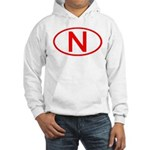 Norway - N Oval Hooded Sweatshirt