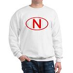 Norway - N Oval Sweatshirt