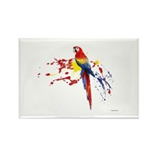 Guacamaya Rectangle Magnet