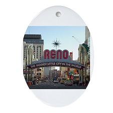 reno Ornament (Oval)