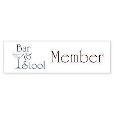 Bar & Stool Bumper Bumper Sticker