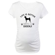 Basenji vector designs Shirt